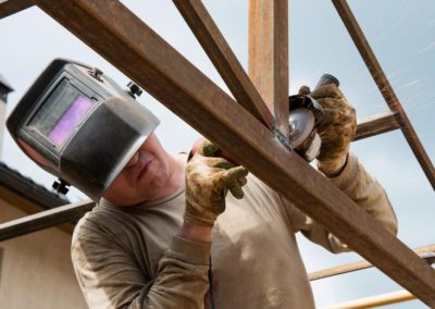 Svařování ocelových konstrukcí